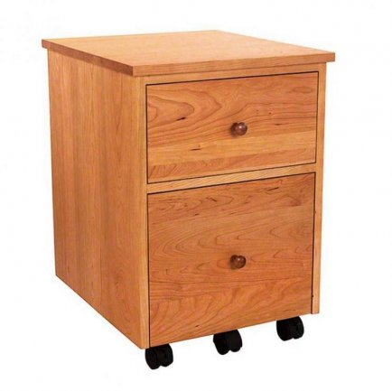 Classic Shaker 2-Drawer Vertical Filing Cabinet