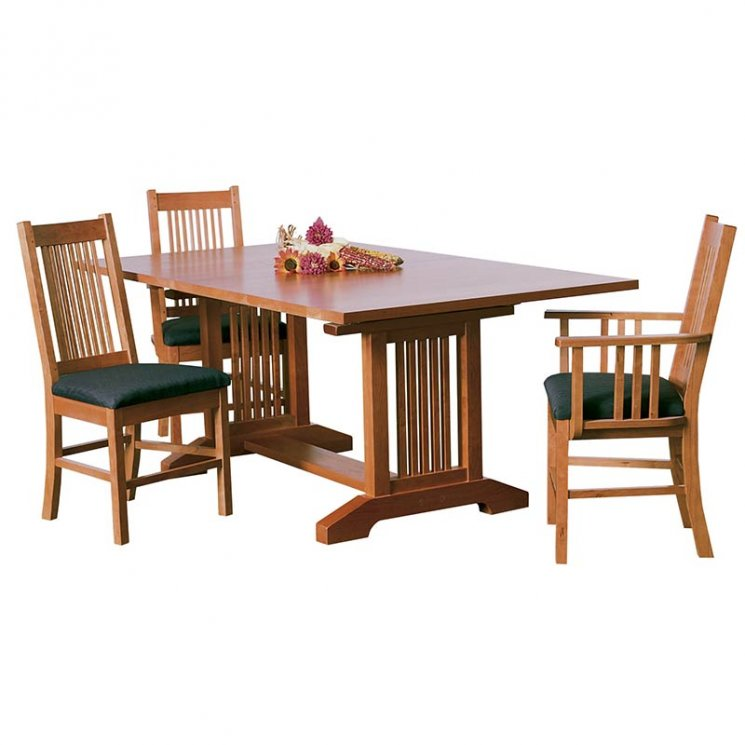 American Mission Trestle Table