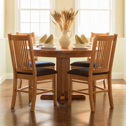 American Mission Round Dining Set