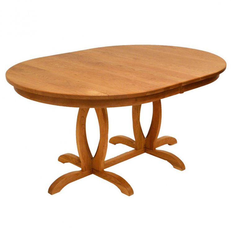 Cherry Blossom Double Pedestal Table