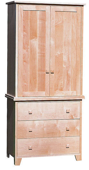 American Mission Wardrobe Armoire