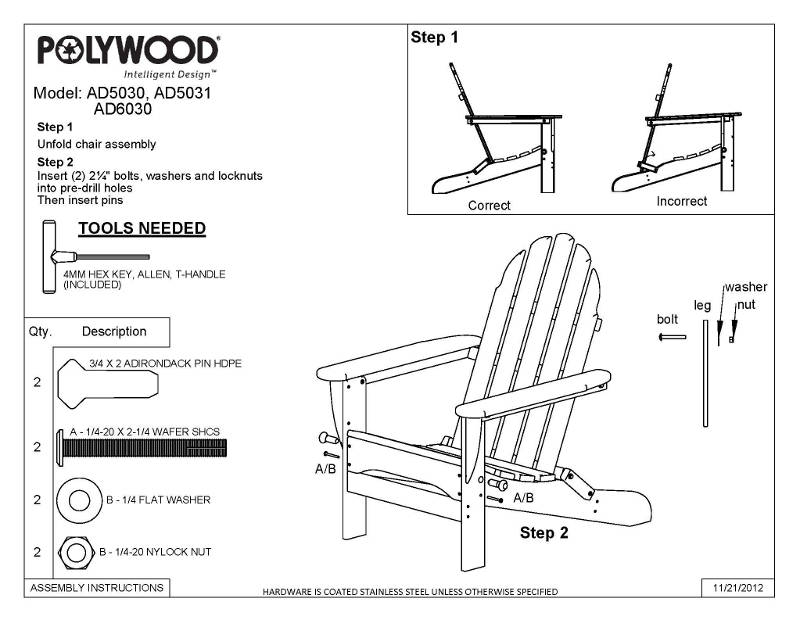polywood recycled plastic adirondack chairs maintenance. Black Bedroom Furniture Sets. Home Design Ideas