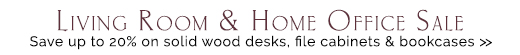 Home Office & Living Room Sale