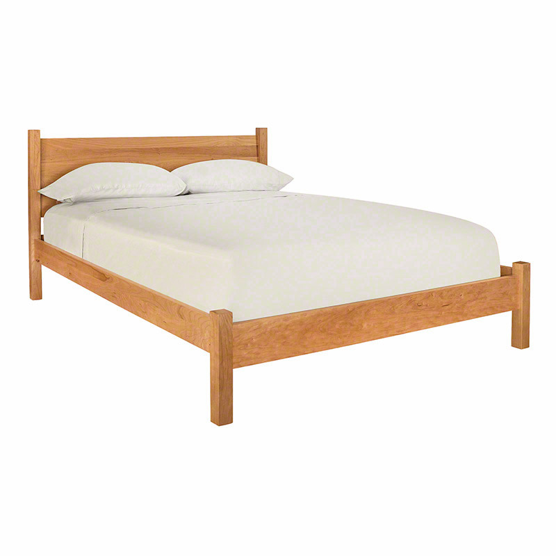 Classic Wood Bed Solid Furniture Made In Vermont