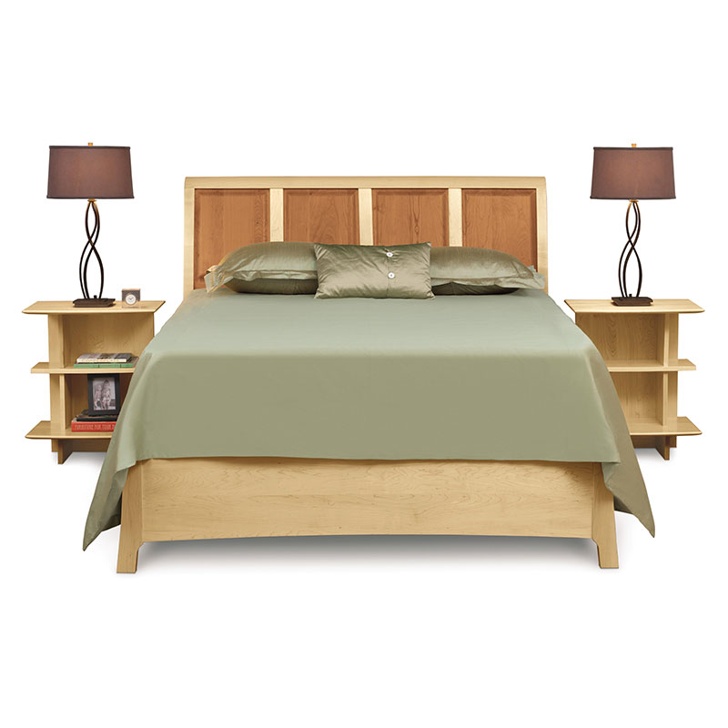 Sarah Cherry Amp Maple Storage Bed By Copeland Furniture