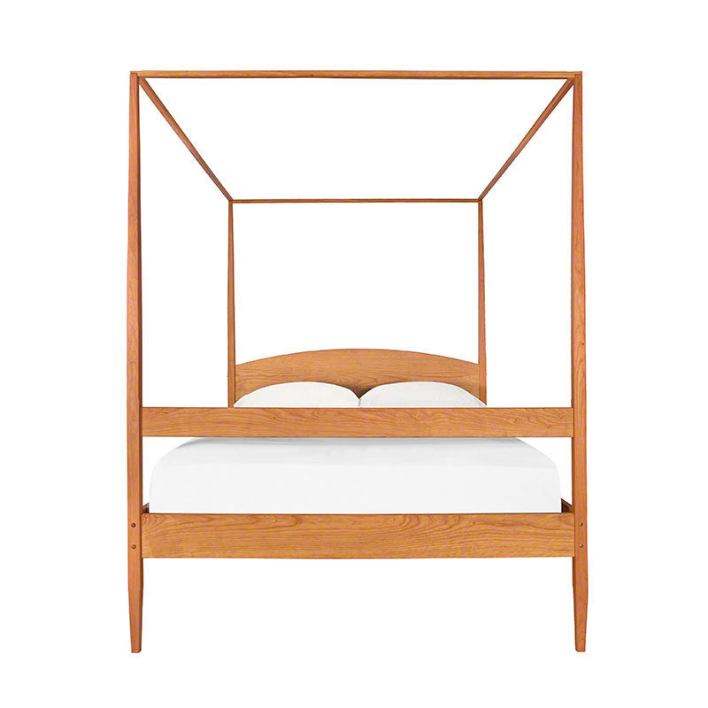 Shaker Wooden Poster Bed Solid Wood 4 Poster Beds In