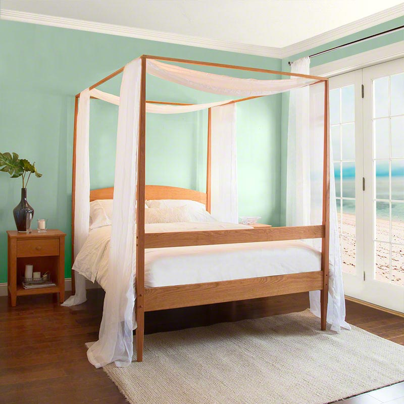 vermont shaker four poster bed - Four Poster Bed Frame