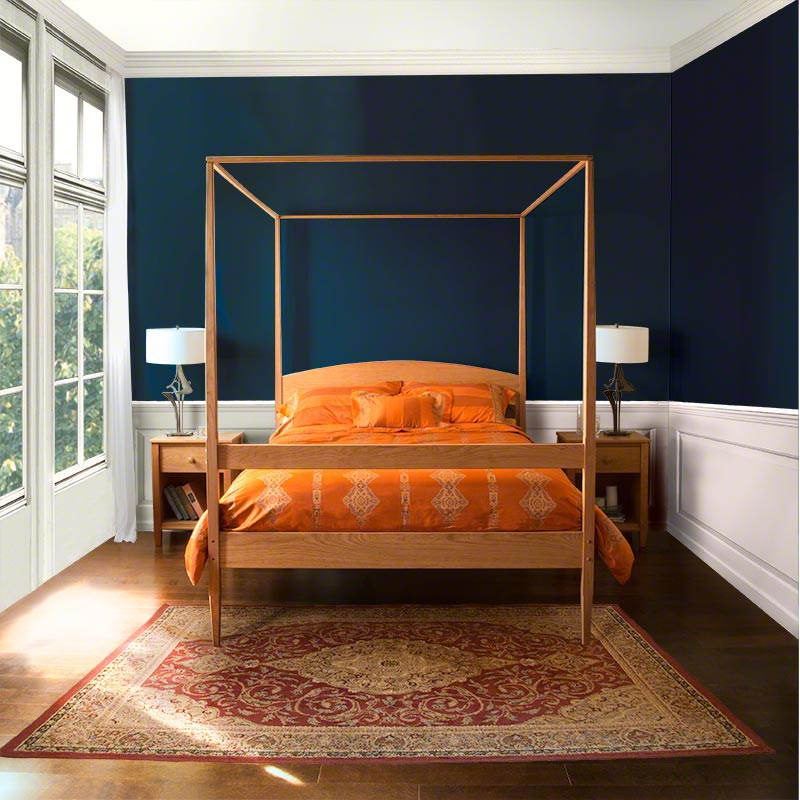 Vermont Shaker Four Poster Bed Vermont Woods Studios