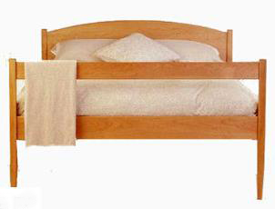 Vermont-Made Shaker Bed
