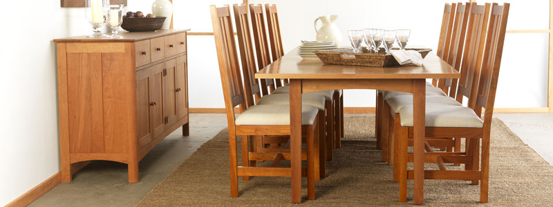 Real Wood Dining Room Table