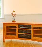 Solid Wood TV Stands & Consoles