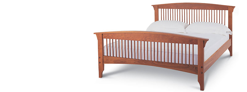 Traditional American Cherry Wood Furniture | Bedroom, Dining
