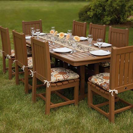 All Weather Recycled Plastic Outdoor Furniture | Patio, Deck, Pool