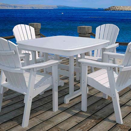 Seashell Adirondack Furniture