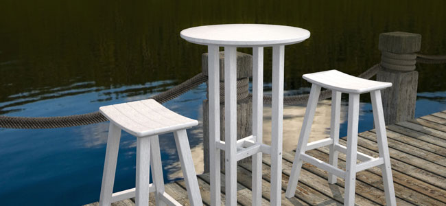 Faux Wood Outdoor Polywood Furniture Recycled Plastic