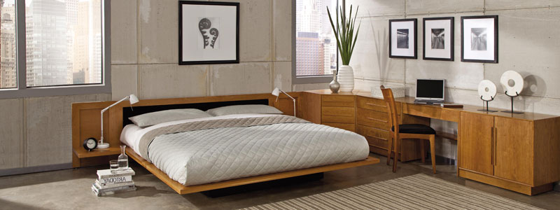 Modern Bedroom Furniture with Copeland's Moduluxe Collection