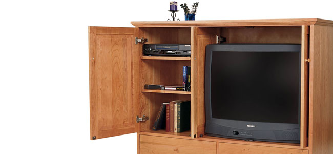 Shaker TV Cabinets & Armoires