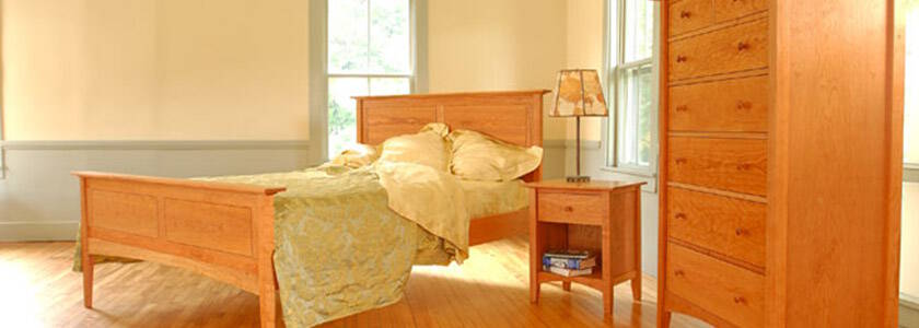 VT Handmade Real Wood Furniture | Custom American Made Natural