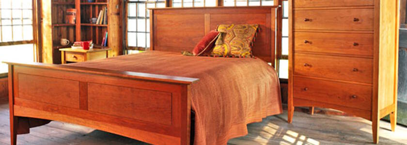 Real Solid Cherry Wood Furniture. Natural Hardwood American