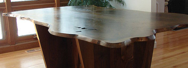 Live Edge Wood Slab Tables