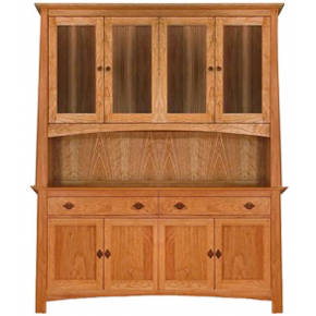 Mission-Craftsman China Cabinets