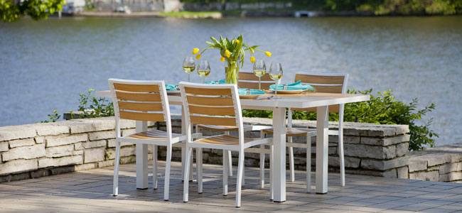 Outdoor Furniture Sets : Fine American Made Solid Wood Furniture