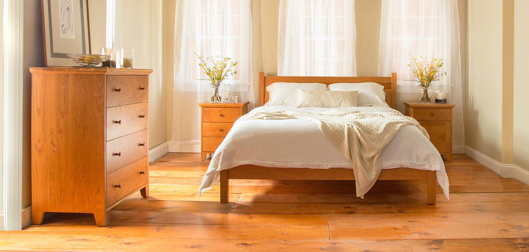 solid wood bedroom furniture sets vermont woods studios bedroom sets