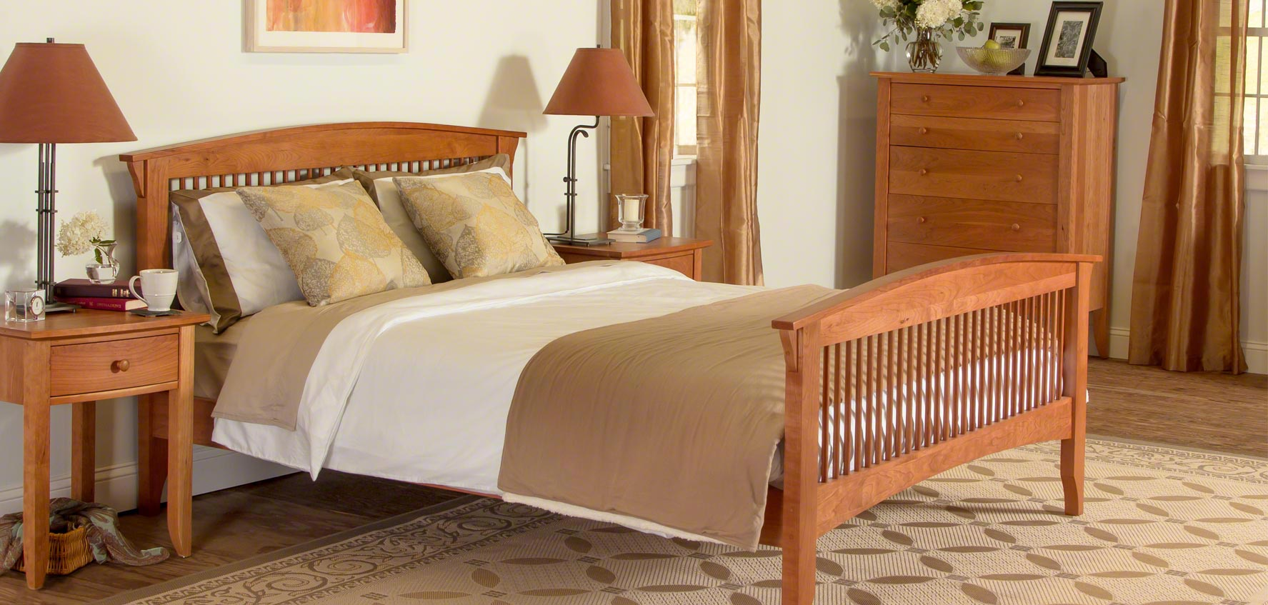 Solid Wood Furniture Shop By Collection Vermont Woods Studios - Online shaker style bedroom furniture