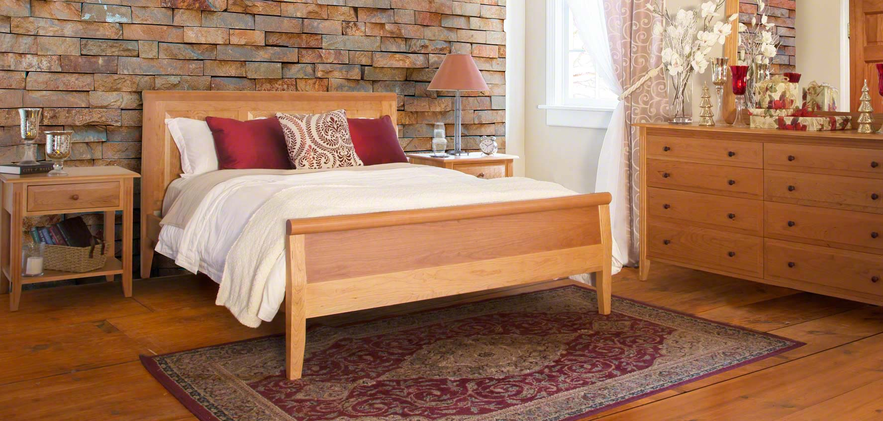 pictures of bedroom sets. Bedroom Sets Solid Wood Furniture  Vermont Woods Studios