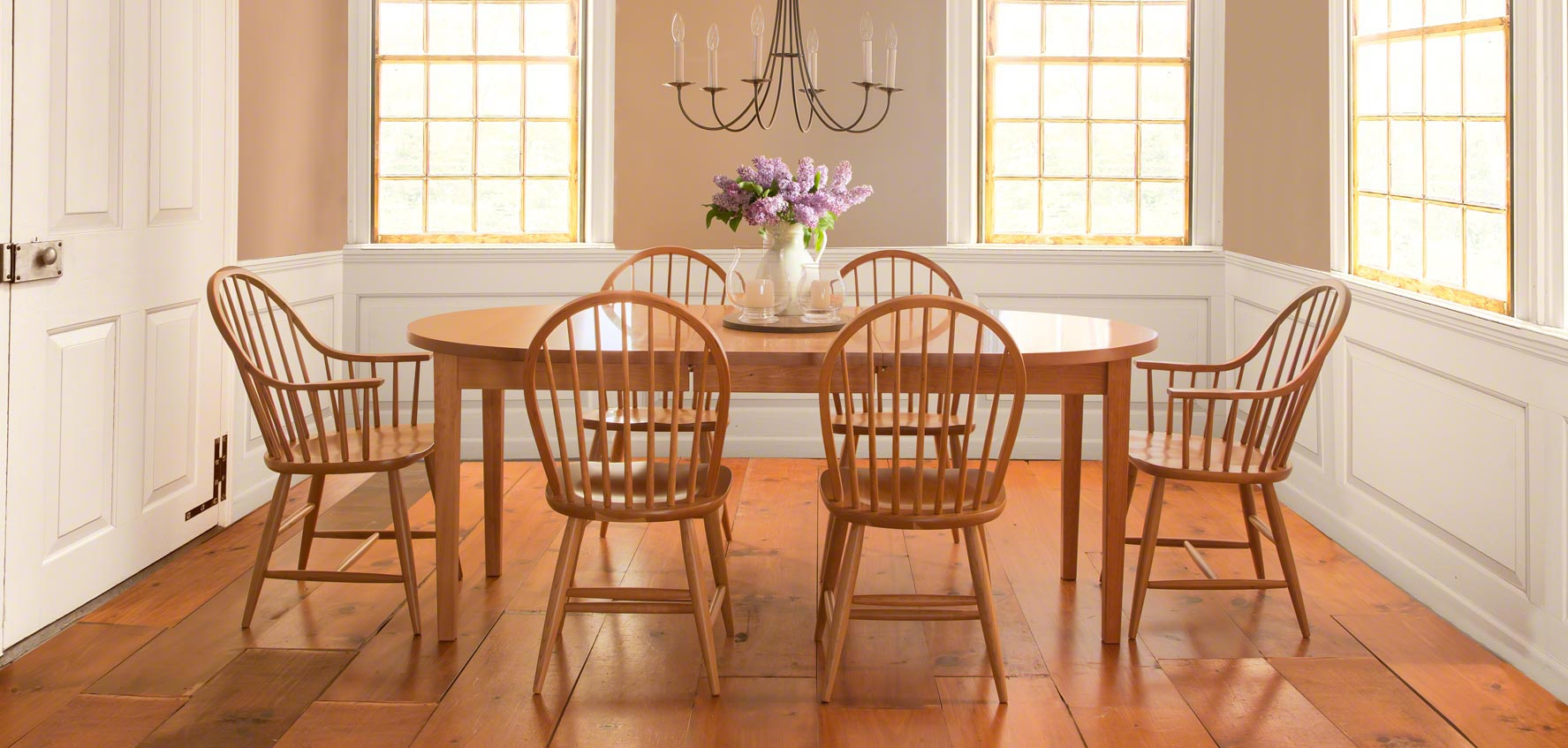 showroom dining furniture in stock vermont woods studios