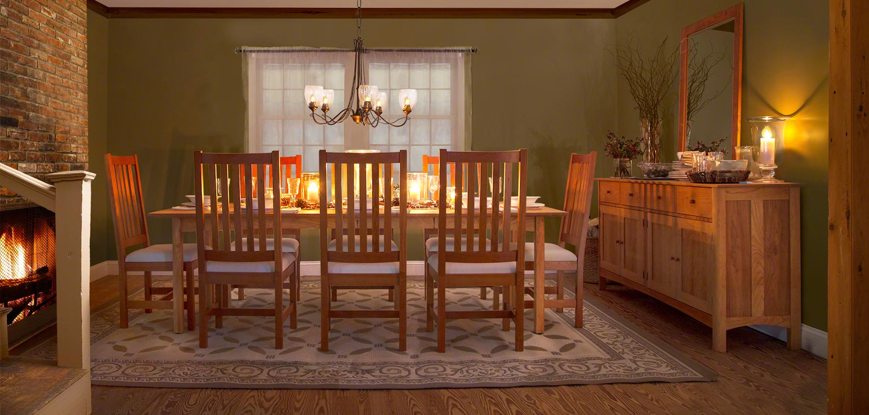Solid Wood Furniture Sets
