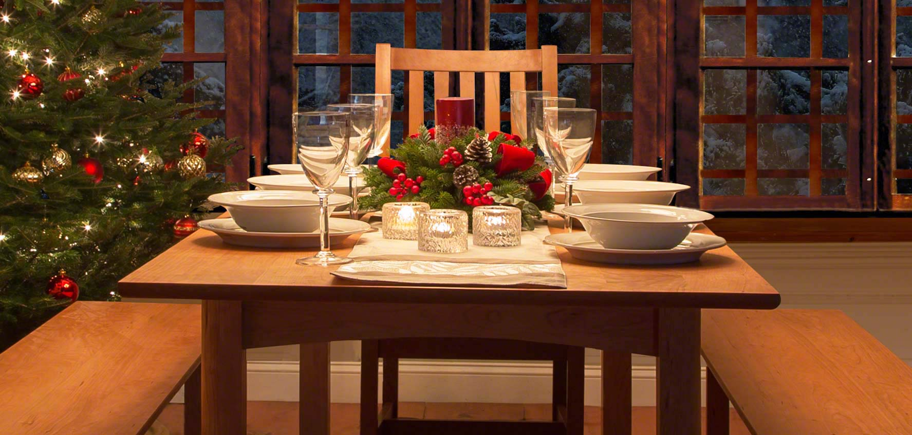Dining Tables. Solid Wood Dining Tables   Vermont Woods Studios