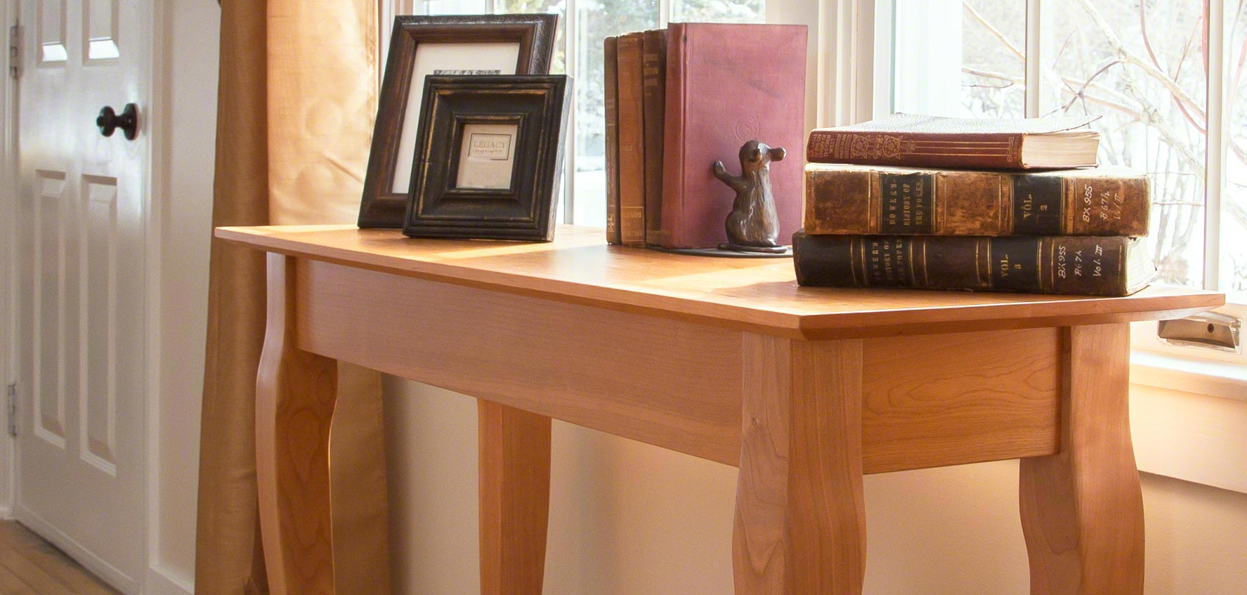 Handcrafted Wood Sofa Amp Console Tables Vermont Woods Studios