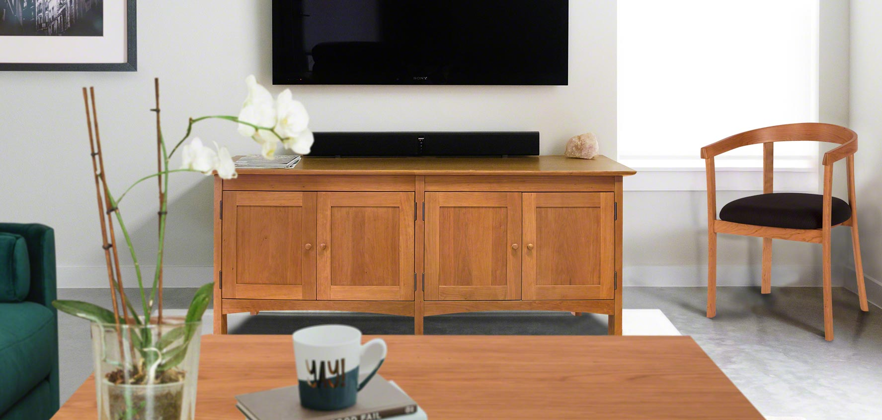 Handcrafted Wood Tv Stands Media