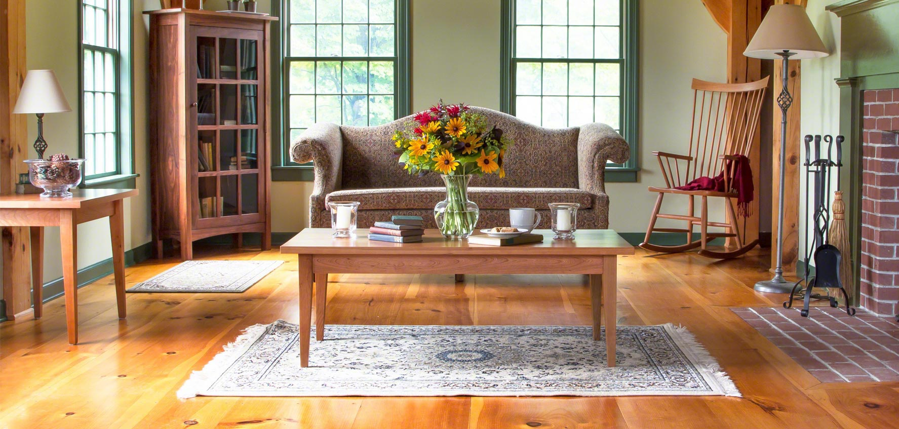 Shaker Living Room Furniture - Vermont Woods Studios
