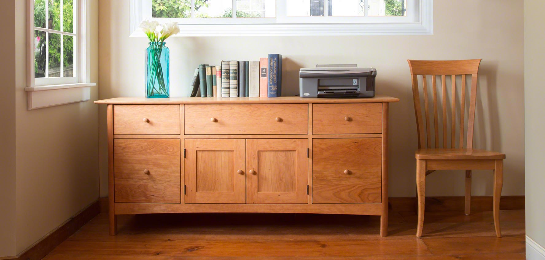 Home Office Furniture At Wooden Furniture Store: Vermont Woods Studios