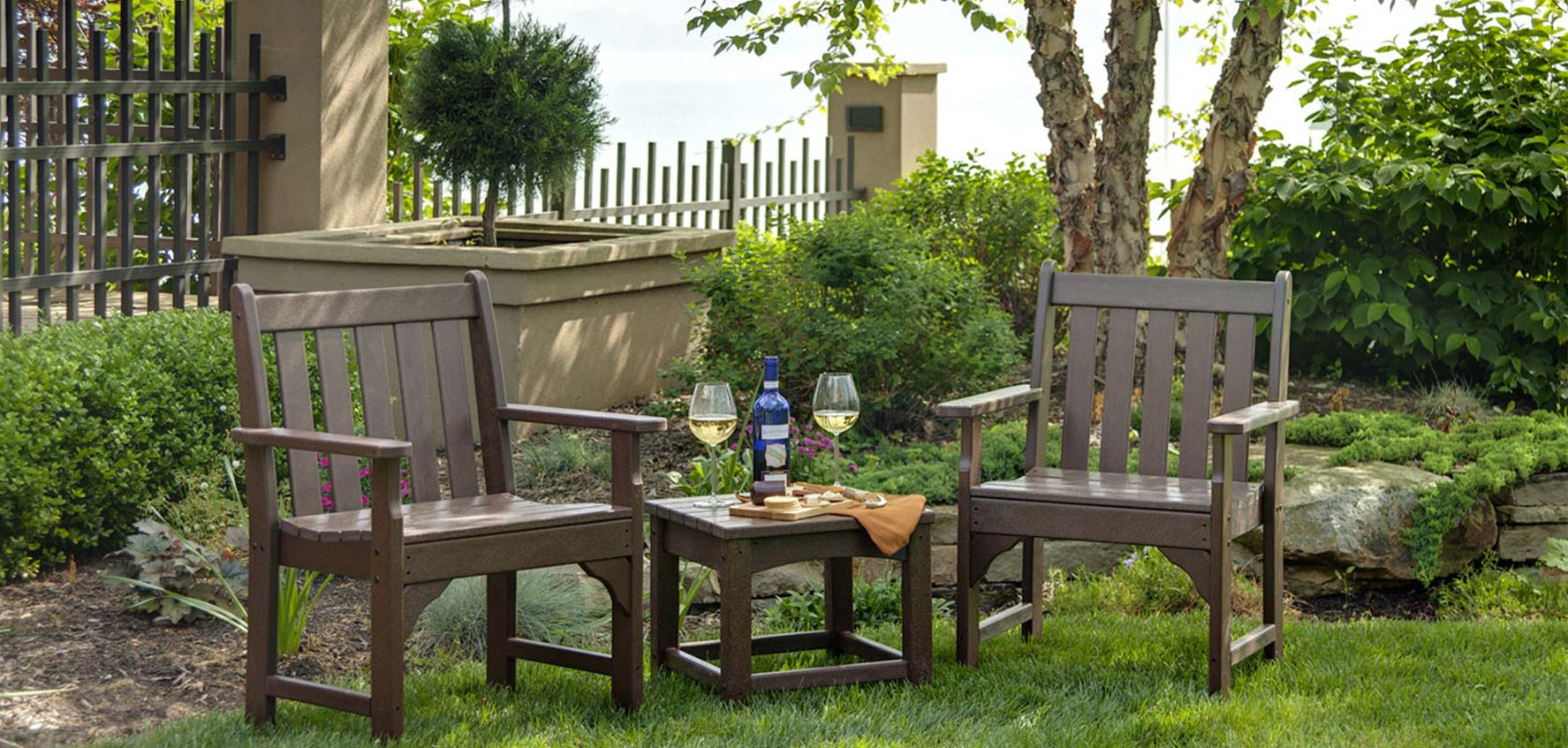 Vineyard Garden Furniture By Polywood Vermont Woods Studios