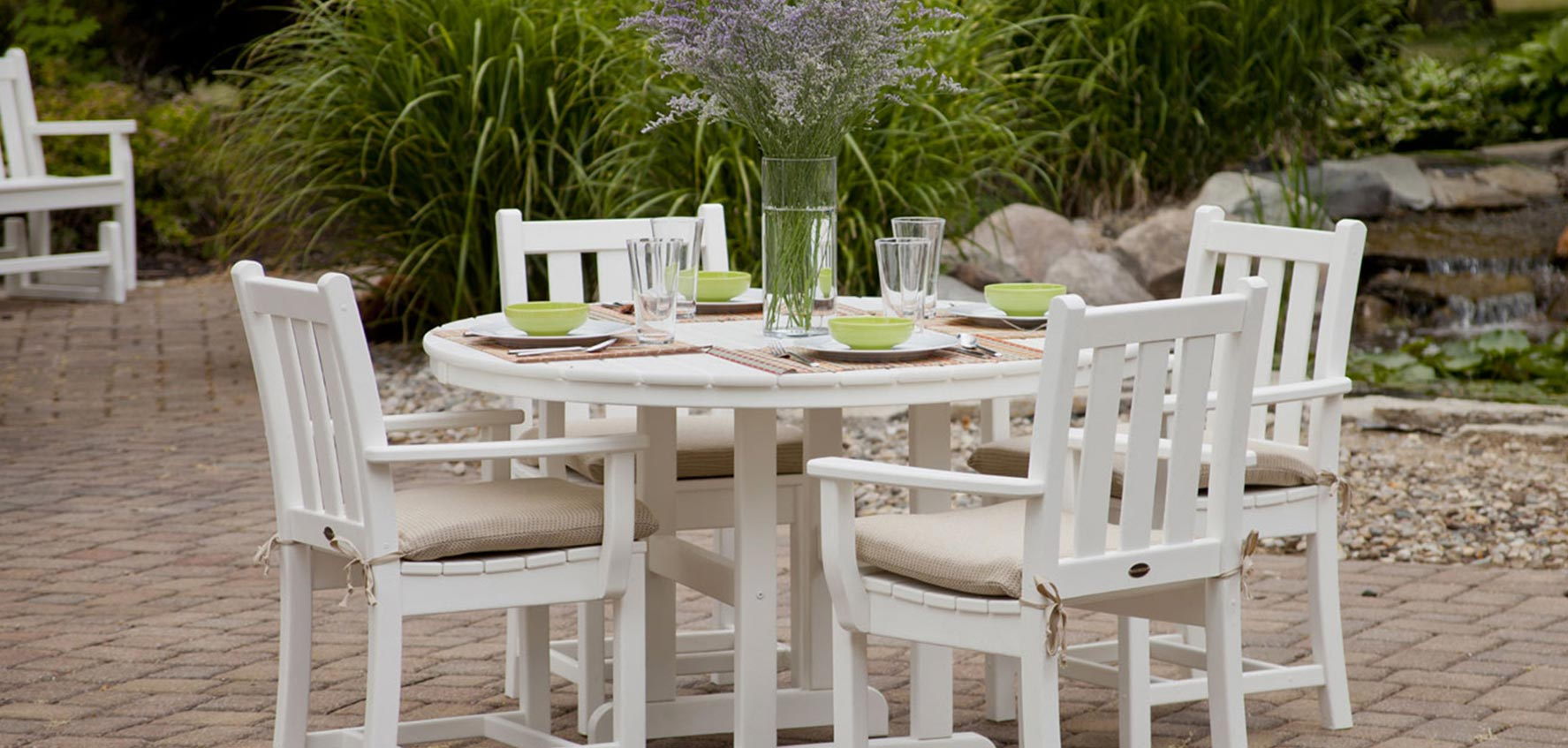 Traditional Garden Furniture By Polywood Vermont Woods