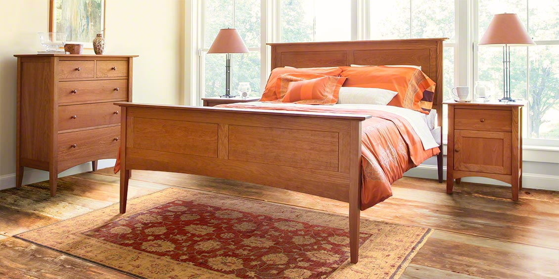 Cherry Bedroom Furniture Real Solid Wood