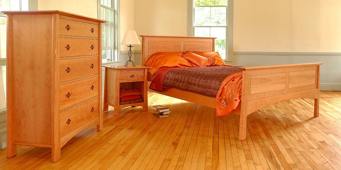 home vermont handcrafted wood furniture bedroom furniture