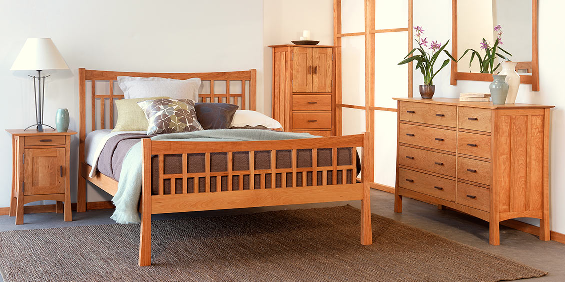 Mission Style Bedroom Set | Rickevans Homes