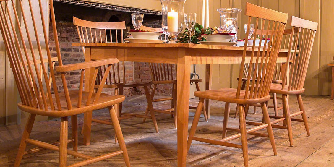 Solid Wood Dining Chairs Vermont Woods Studios