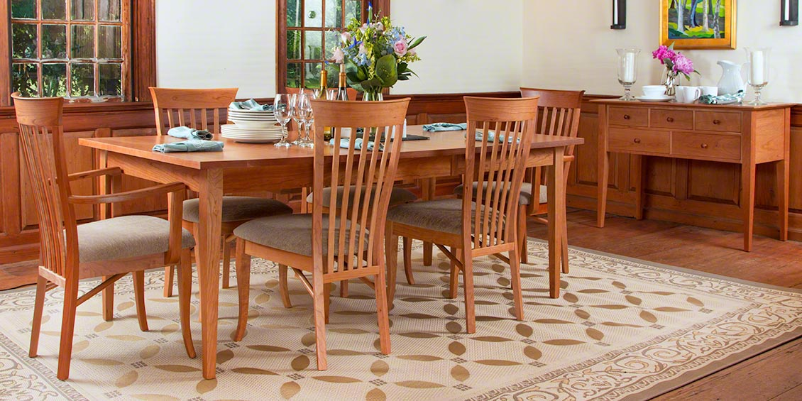 Shaker Dining Room Chairs Designs
