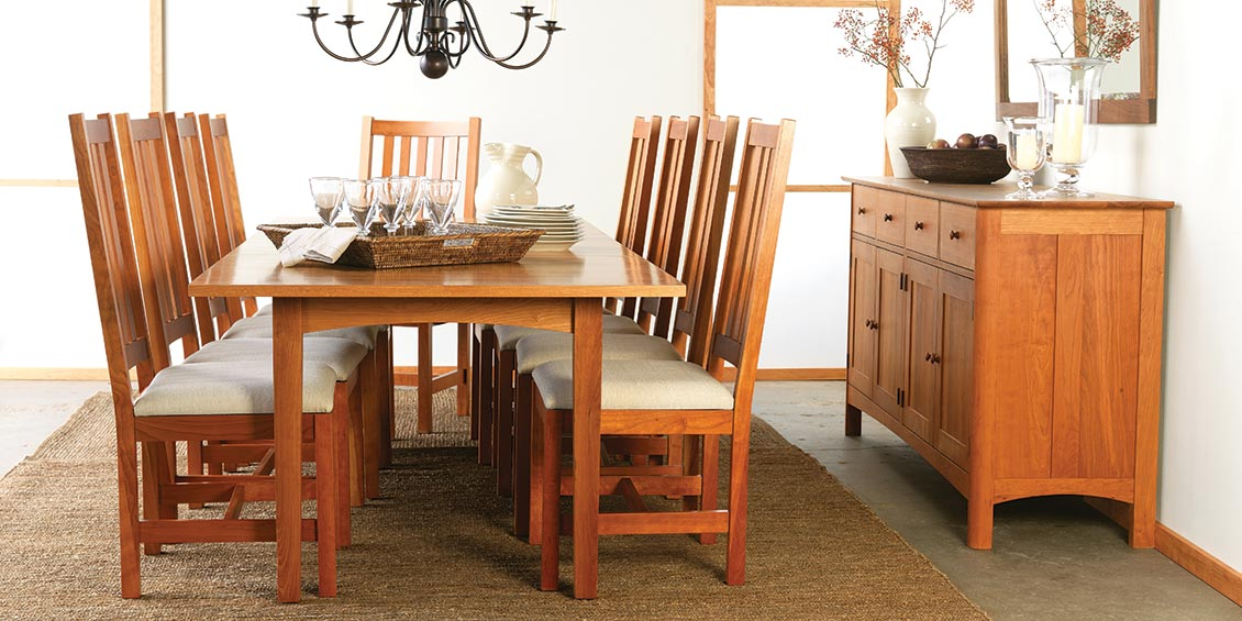 Lovely Shaker Dining Room Furniture #8: Shaker Style Cherry Dining Furniture Dining Sets