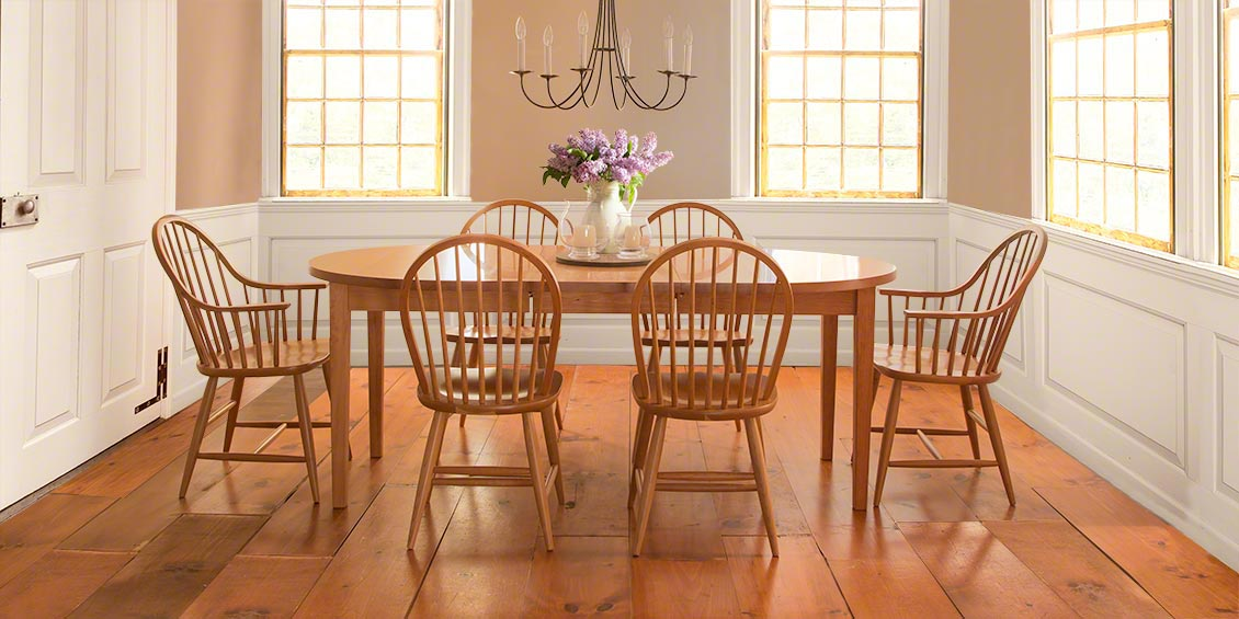 shaker dining room furniture vermont woods studios