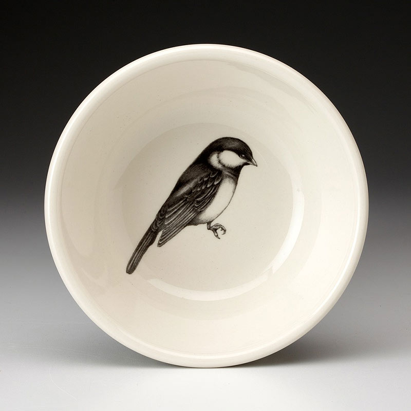Cereal Bowl - Chickadee