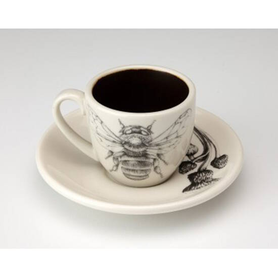 Espresso Cup - Bumble Bee, Clover