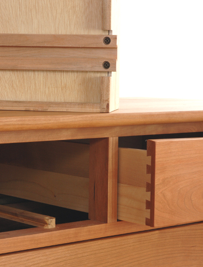Solid Wood Case Drawer Slides