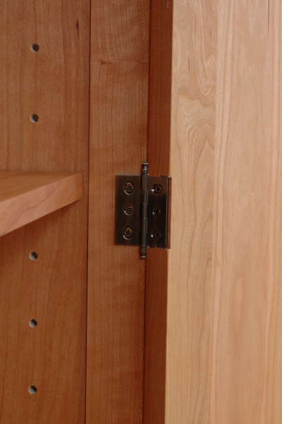 Solid Wood Case Hinge