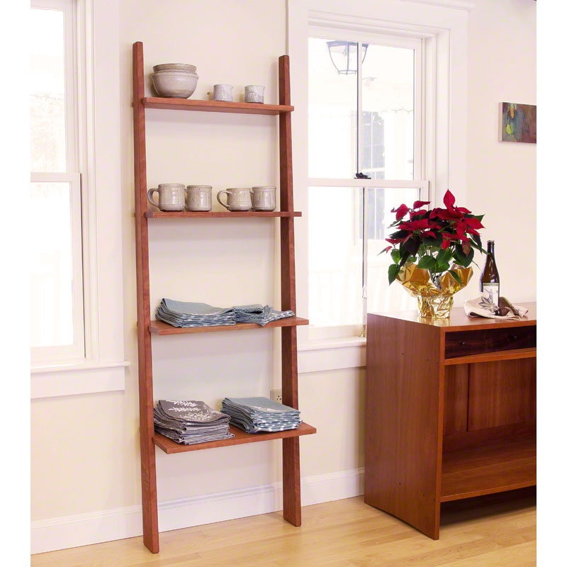 Cherry Moon Ladder Bookcase CLEARANCE